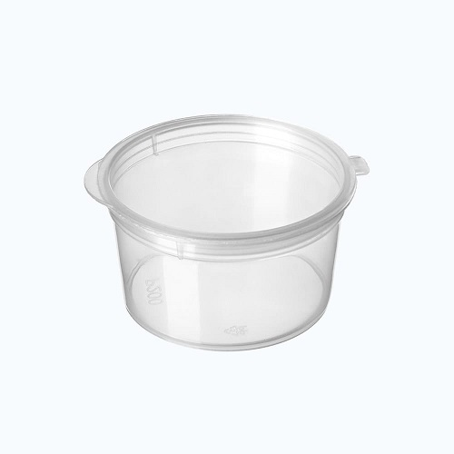 Portion Container 28ml Hinged Lid