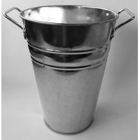 BUCKET SMALL GALVANISED 200X145X190
