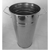 BUCKET LARGE GALVANISED 375X220X155