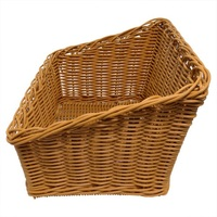POLY BASKET NATURAL SLANT 480X300X260MM