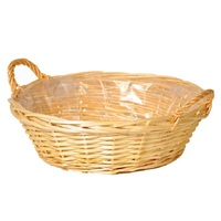 WILLOW BASKET MEDIUM 9X33X25.5CM