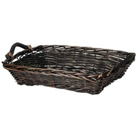 WILLOW TRAY STAINED XXL RECT 12X50X40CM