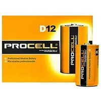 DURACELL BATTERIES D BOX12