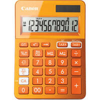 CANON CALCULATOR LS123K ORANGE