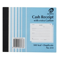 OLYMPIC 614 CASH RECEIPT DUPLICATE
