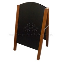 TWO-SIDED A-FRAME BLACKBOARD 500X870MM