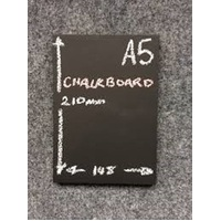 CHALK BOARD A5 ONLY (SUITS CLIP)