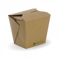 PAIL PAPER 32OZ COMPOSTABLE PLA-LINED