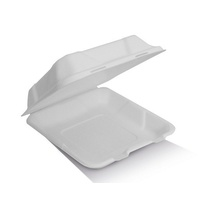 "COMPOSTABLE 8"" CLAM 203X203X58MM"