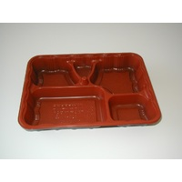 BENTO LUNCHBOX COMPART RED 566