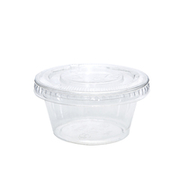 BETA-PET 60ML CLEAR PORTION CONTAINER