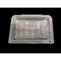 CLAM SSC-2 HINGED LID BLACK
