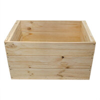 PINE CRATE 560X380X300 LGE DEEP CLOSED