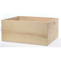 PINE CRATE 390X320X170MM