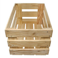 PINE CRATE 560X370X310MM DEEP SLATTED