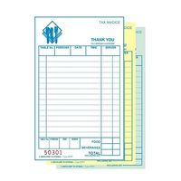 BFBF DOCKET BASIC FOOD & BEV TRIPLICATE