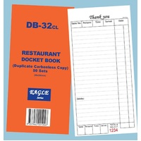 DB-32CL DOCKET RESTAURANT DUP C'LESS