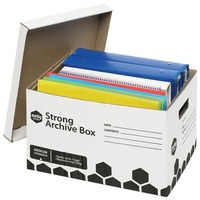 MARBIG ARCHIVE BOX FILE STRONG (BOX 20)