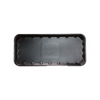 TRAYS FOAM BLACK IKON 11X5
