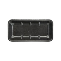 TRAYS FOAM BLACK IKON 11X5 DEEP