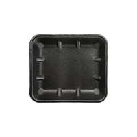 TRAYS FOAM BLACK IKON 8X7 DEEP