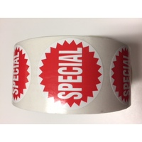 LABEL SPECIAL 38MM CIRCLE