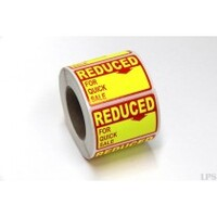 LABEL 35X50MM REDUCED FOR QUICK SALE