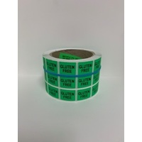 LABEL 20X25 GREEN GLUTEN FREE