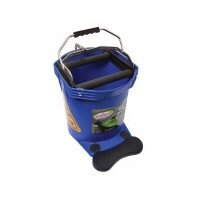 MOP BUCKET 16LT WIDE MOUTH PRO BLUE