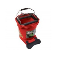 MOP BUCKET 16LT WIDE MOUTH PRO RED