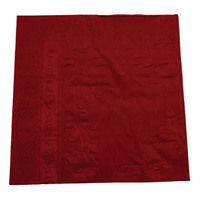 DINNER NAPKIN 2PLY ABC BURGUNDY
