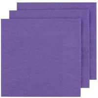 NAPKIN DINNER ALPEN PURPLE PK50