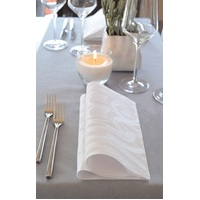 NAPKIN DINNER DUNI SUPERIOR WHITE GT