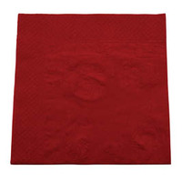 NAPKIN LUNCH ABC RED 2PLY