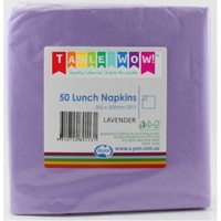 NAPKIN LUNCH ALPEN PURPLE
