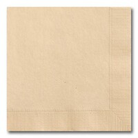 NAPKIN COCKTAIL 2PLY RECYCLED BROWN