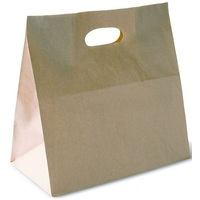 PAPER BAG #D CUT 280X280X150MM 65GSM
