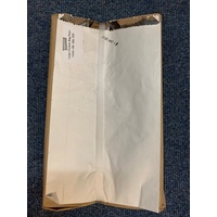 PAPER BAG FOIL LINED LARGE PLAIN