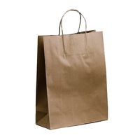 PAPER BAG STRING HANDLE BROWN350X260X110