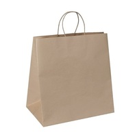 PAPER BAG STRING HANDLE BROWN370X355X220