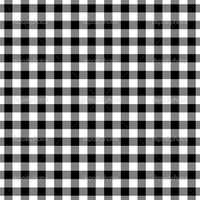 GREASEPROOF GINGHAM BLACK PRINT190X150MM