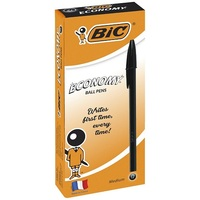 BIC PEN ECONOMY BLACK MEDIUM BOX12