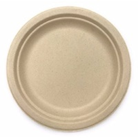 COMPOSTABLE BAMBOO PLATE 9""