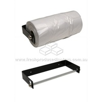 PRODUCE ROLL BRACKET POWDER-COATED BLACK