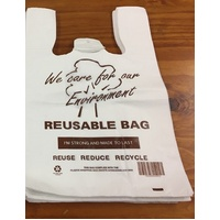 REUSABLE SINGLET BAG JUMBO 35UM