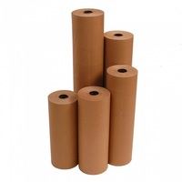BROWN KRAFT PAPER ROLL 600MMX100M 65GSM