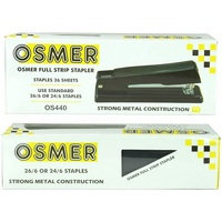 OSMER ALL METAL STAPLER