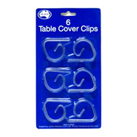 TABLECLOTH CLIP PACK 6