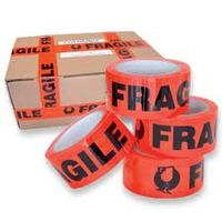 FRAGILE PRINTED TAPE 48MMX66M