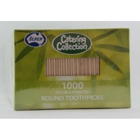 TOOTHPICKS ALPEN DOUBLE ENDED BOX 1000